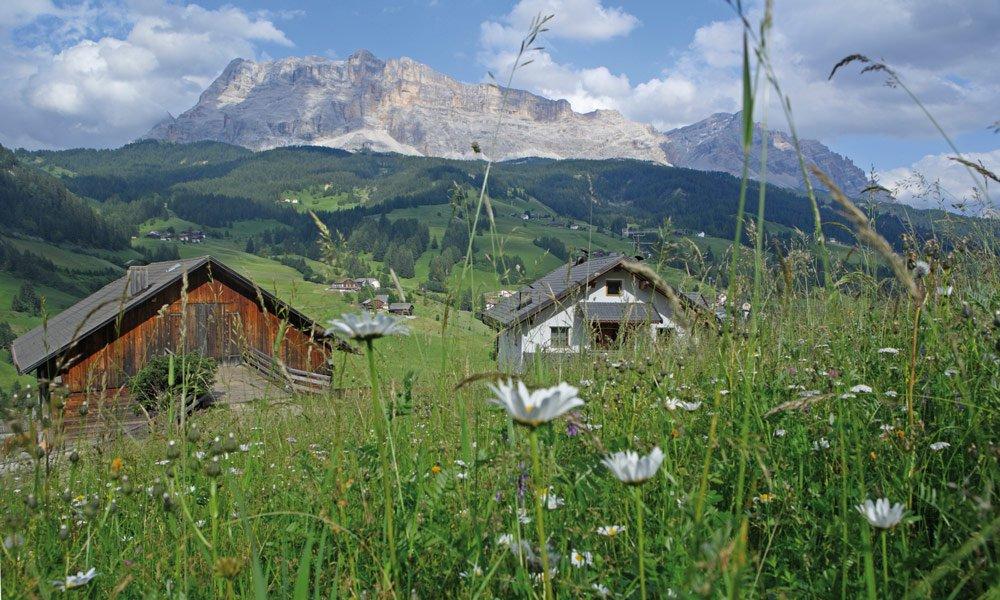 Alm- und Schützhütten – Gadertal Dolomiten