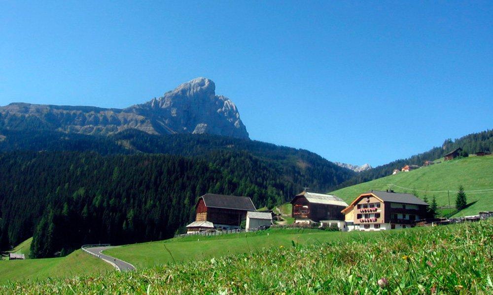 Alloggio in posizione ideale nelle Dolomiti